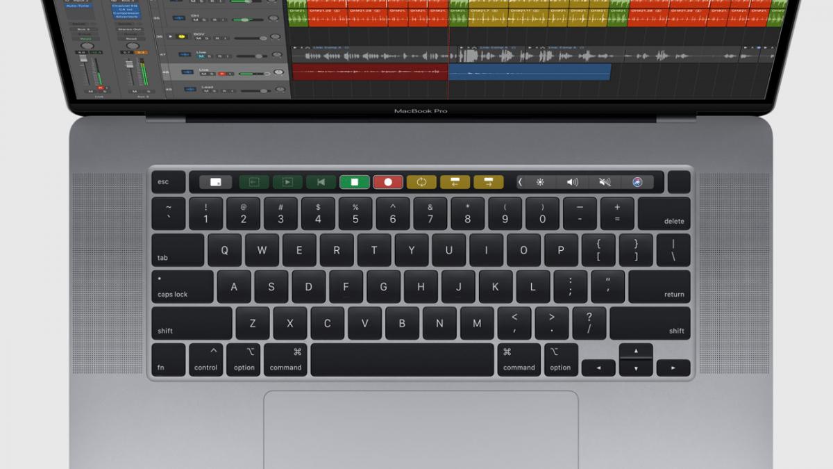 MacBook Pro 16: Neuer Sensor erkennt Bildschirmneigung