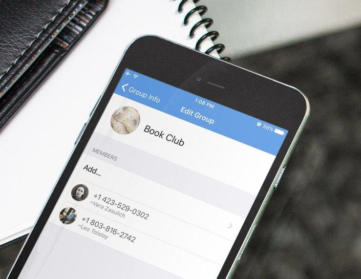 Messenger: Signal will Gruppenchats verbessern