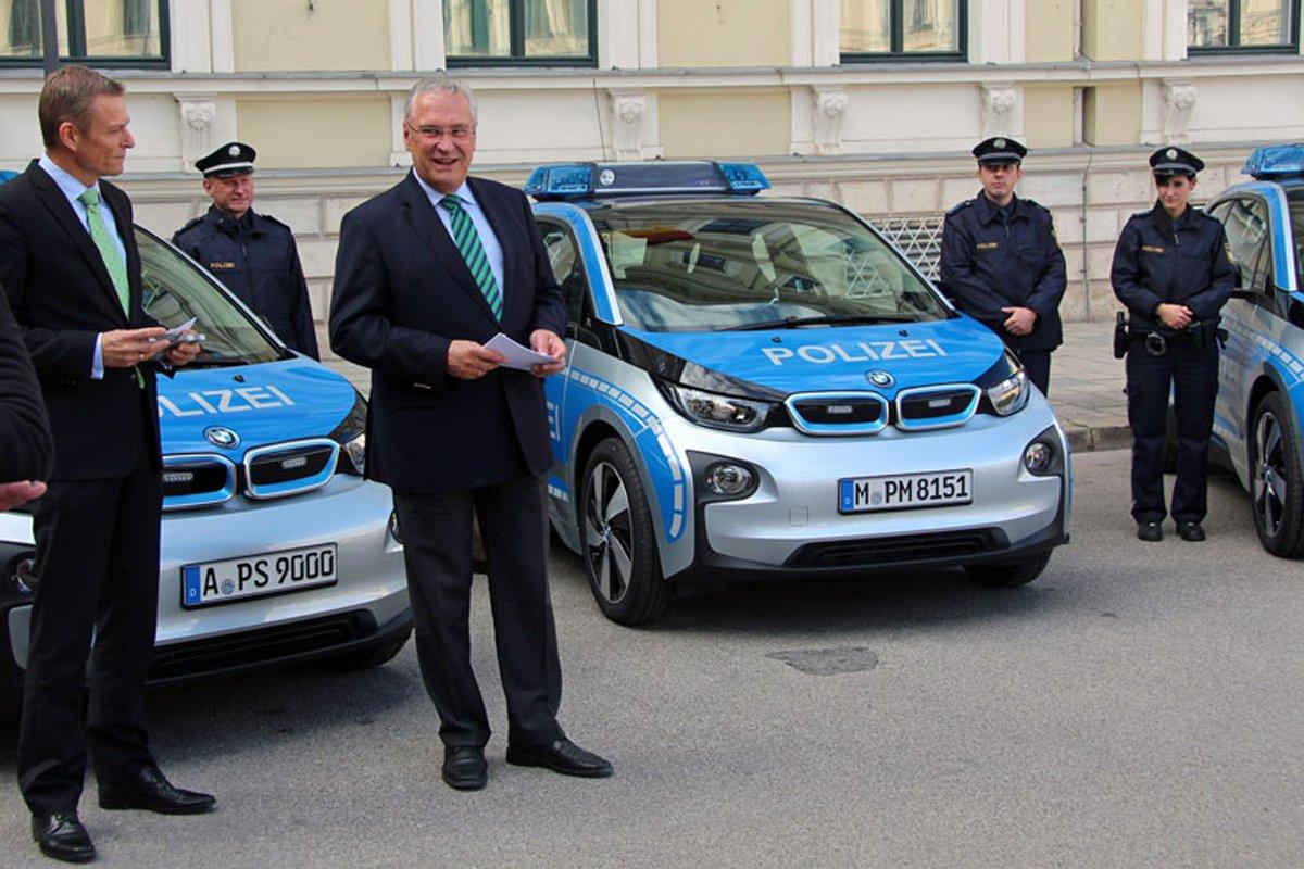 Elektroautos taugen nicht als Streifenwagen für Bayerns Polizei