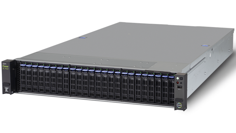 IC922: IBM bringt Power9-Server für den KI-Einsatz auf den Markt