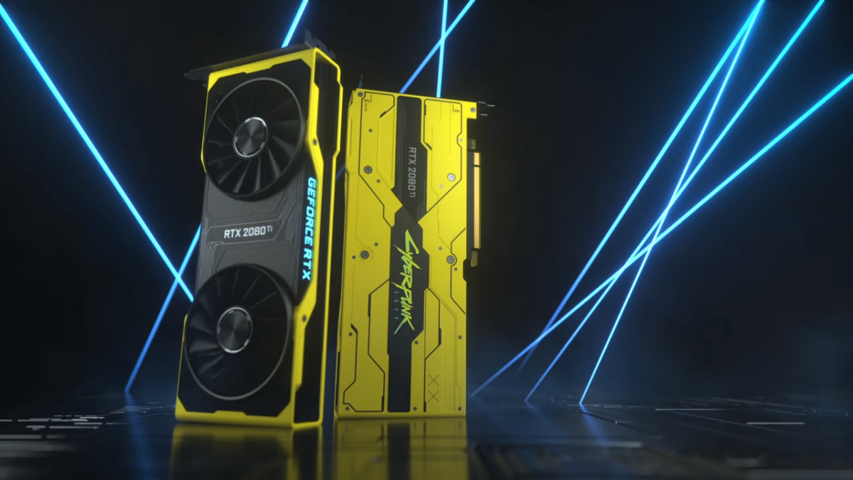 Nvidia legt limitierte GeForce RTX 2080 Ti im Cyberpunk-2077-Stil auf