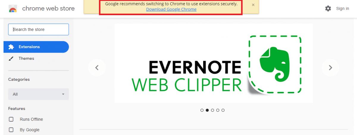 l+f: Google findet den neuen Edge-Browser doof - und unsicher