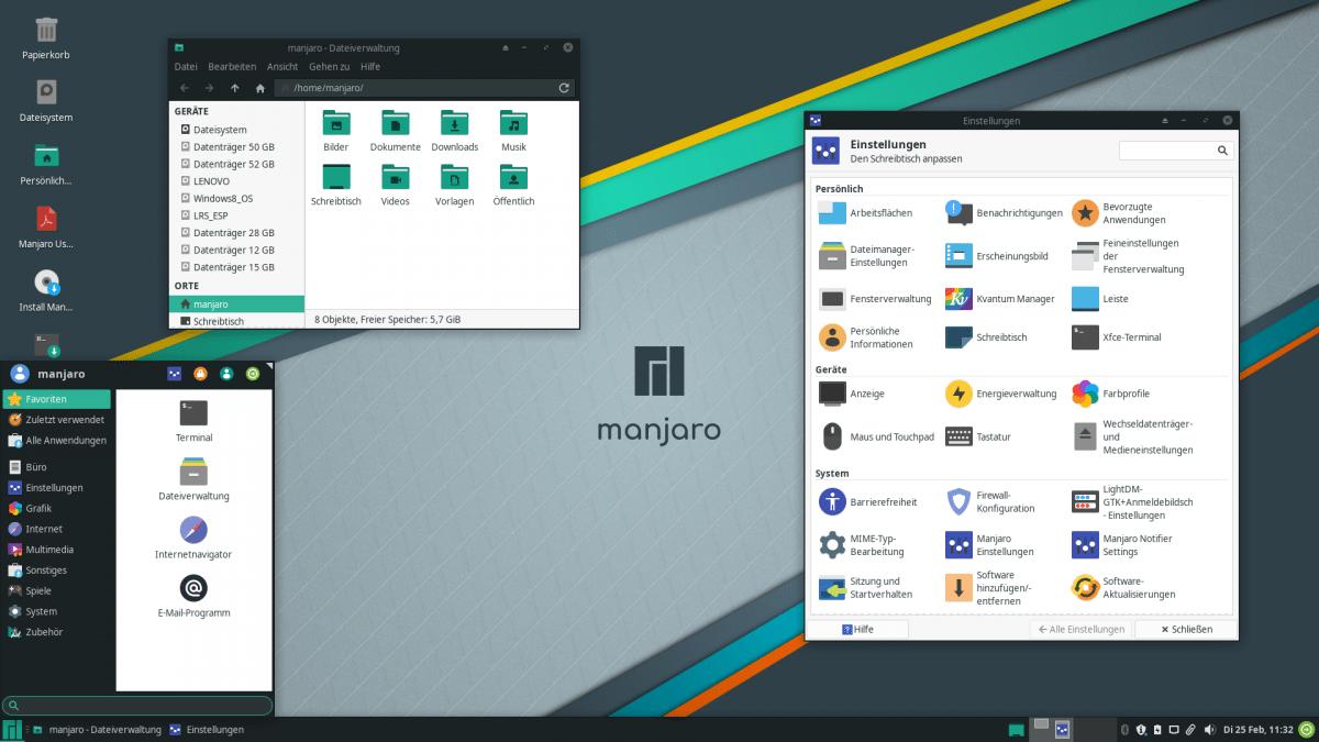 Linux-Distribution Manjaro 19.0 bringt Feinschliff für den Desktop