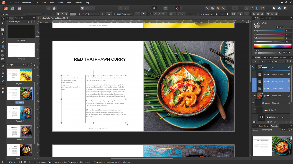 Kreativ-Software: Serif aktualisiert Affinity-Apps