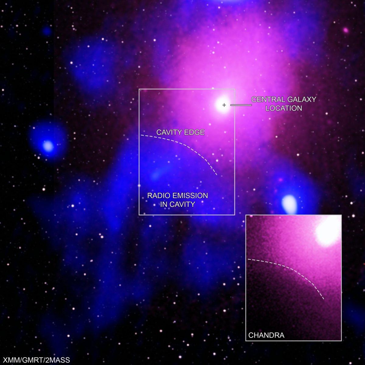 Astronomie: Überreste der gigantischsten Explosion gefunden