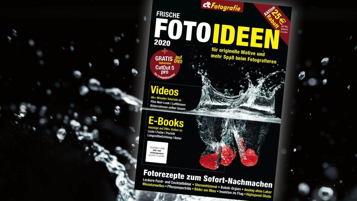 Das Foto-Ideen-Heft 2020: Foto-Spaß für drinnen und draußen