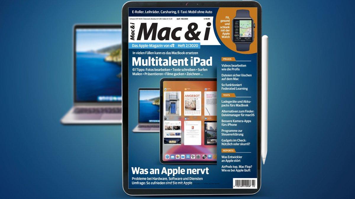 Mac & i Heft 2/2020 jetzt vorab im heise shop