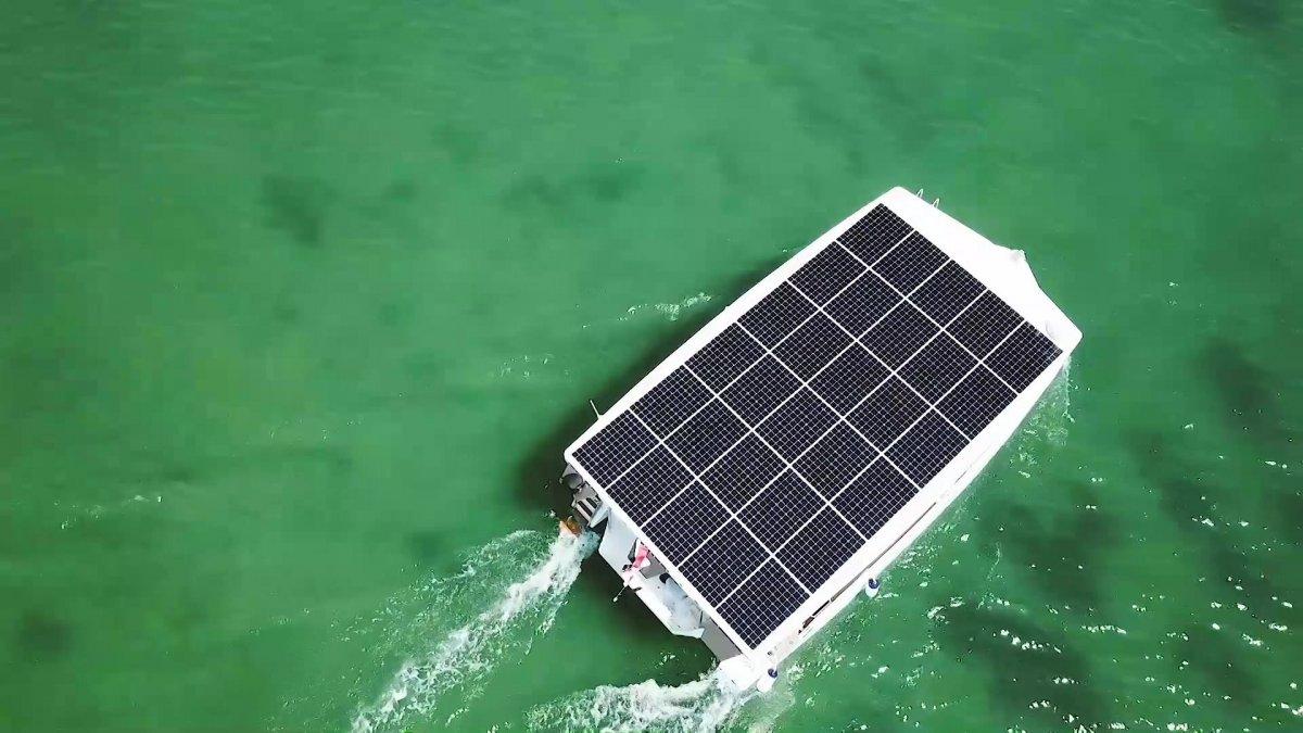Aquanima 40: Solar-Yacht ohne fossiles Backup