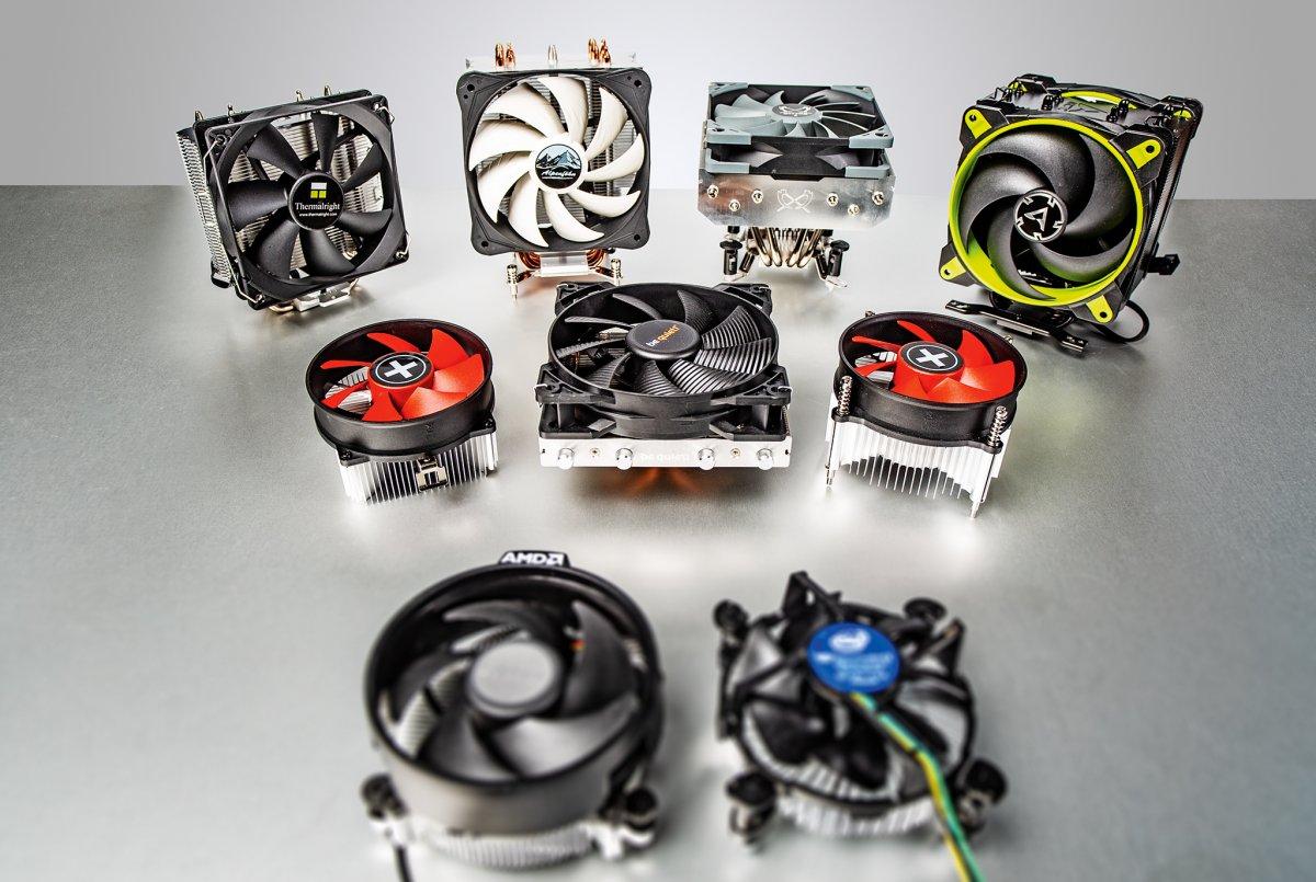 Schwerpunkt H-IT-ZE: Vor- und Nachteile verschiedener Prozessorkühler
