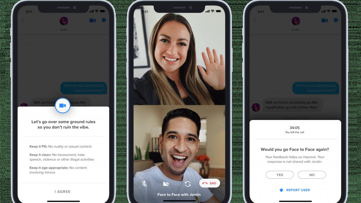 Virtuelle Dates: Tinder testet Funktion für Videoanrufe