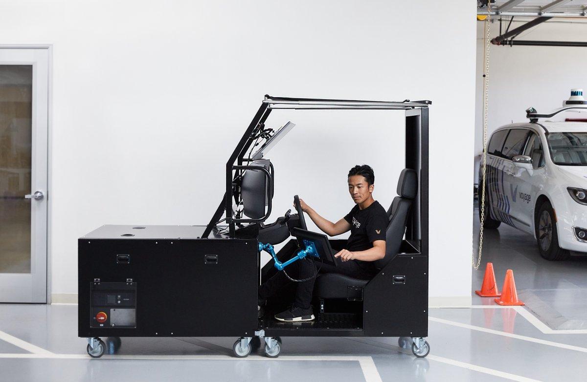 Autonome Autos: Voyage entwickelt Fernsteuerstation für ratlose Gefährte