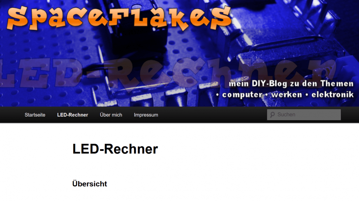 Schaltplanrechner für LEDs