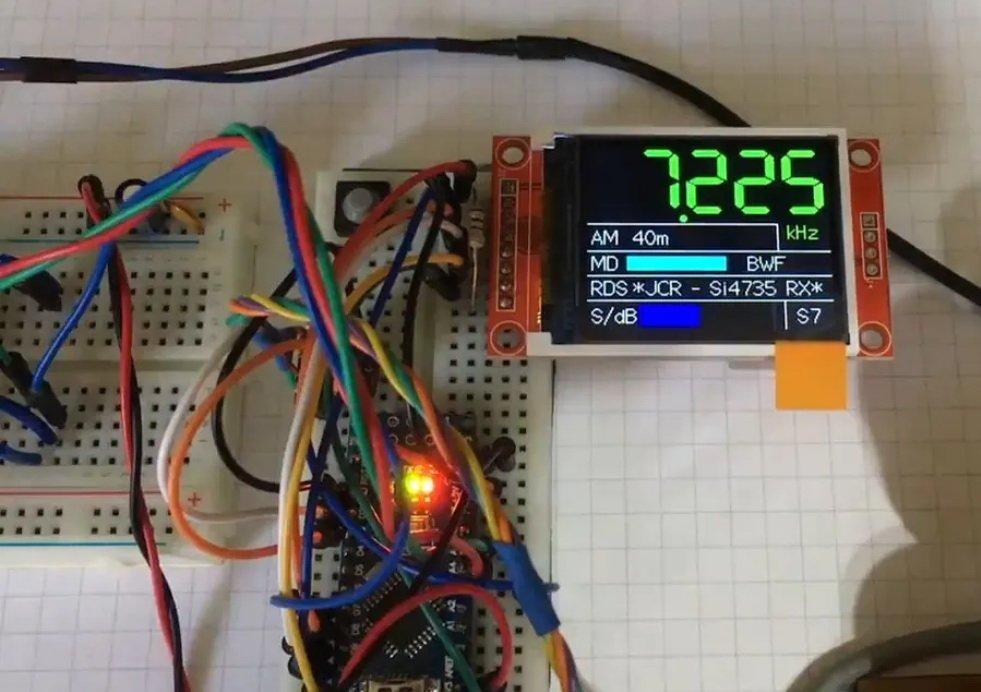 Mit 2-Euro-SDR-Chip: Arduino wird zum Weltempfänger