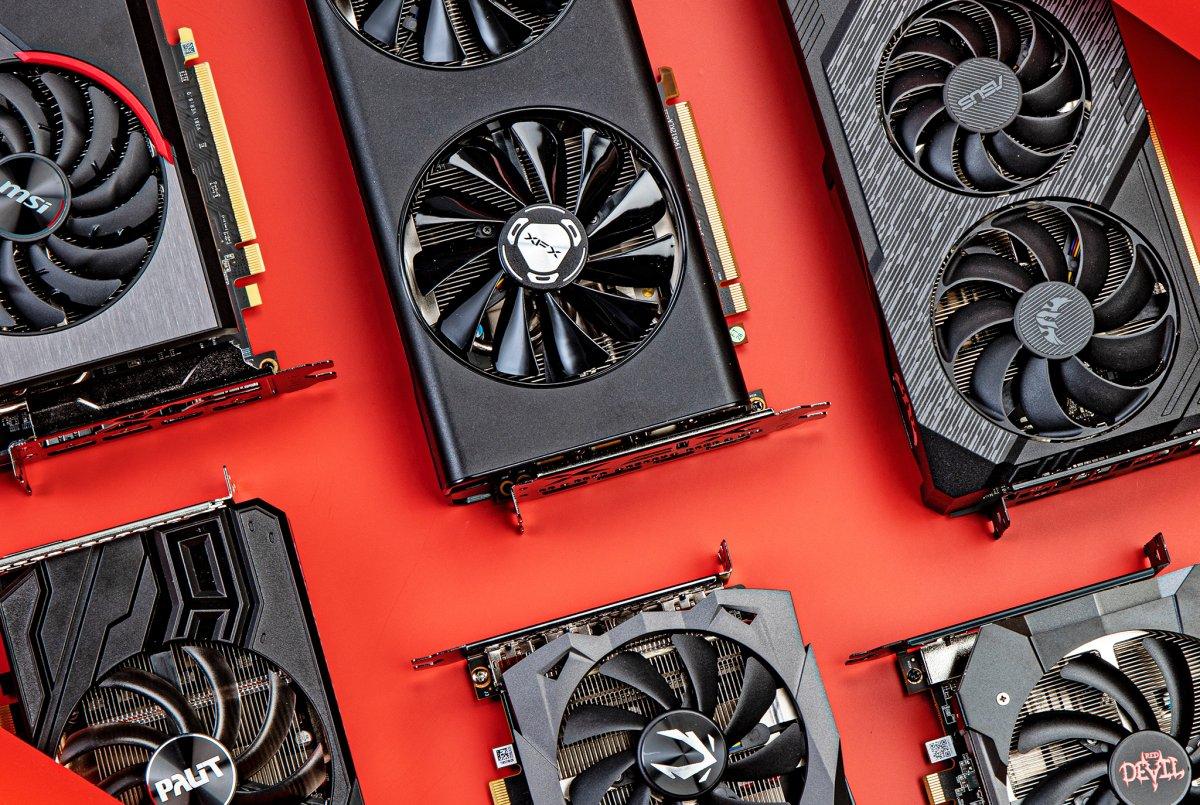 AMD Radeon knöpft Nvidia GeForce kleinen Marktanteil...