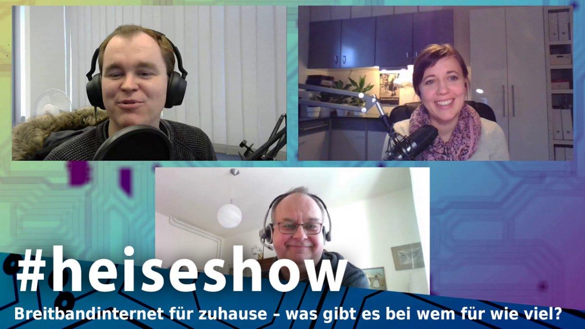 #heiseshow: Breitbandinternet für zuhause – was gibt es bei wem für wie viel? - heise online