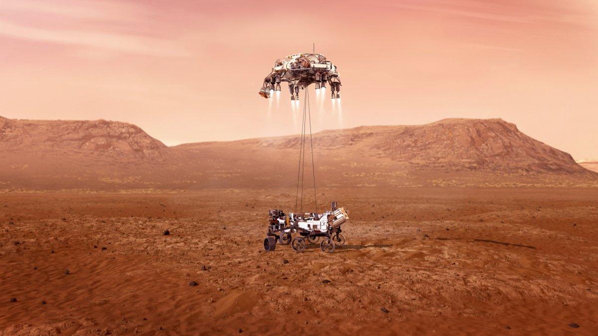 Bereit zur Marslandung: NASA-Rover Perseverance vor der Ankunft - heise online