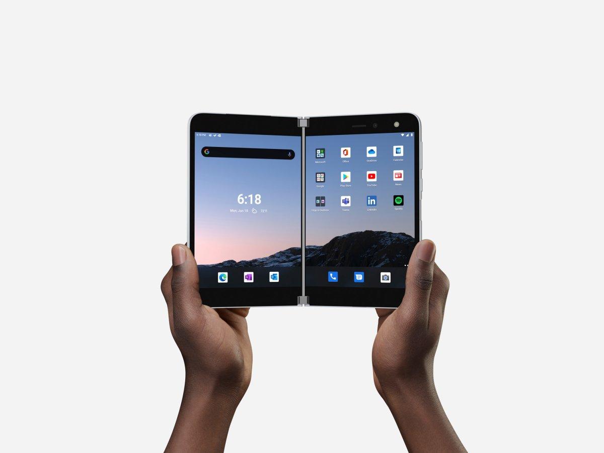 Surface Duo: Microsoft-Smartphone ab 18. Februar für 1550 Euro erhältlich - heise online
