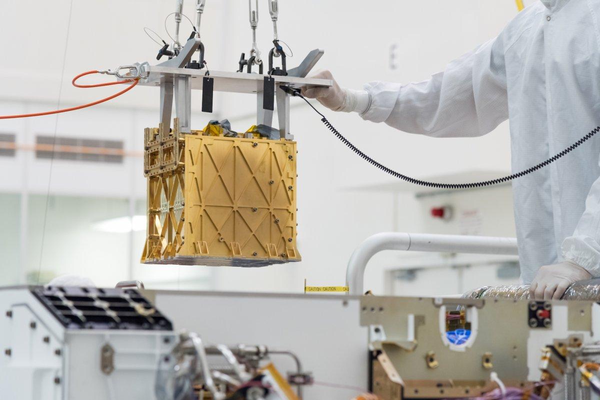 Moxie auf Mars-Rover Perseverance: Ohne Sauerstoff geht es nicht nach Hause - heise online