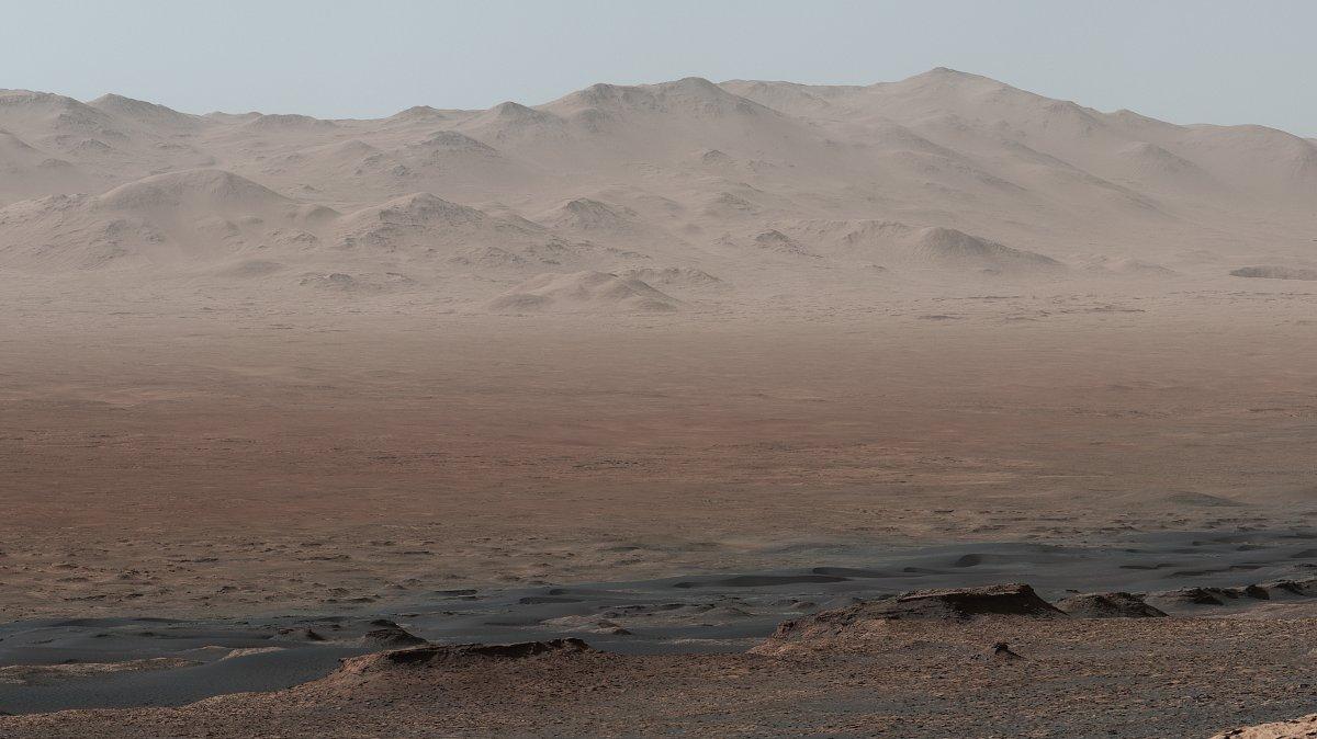 Forscher: Cyanobakterien gedeihen bestens unter Mars-Bedingungen - heise online