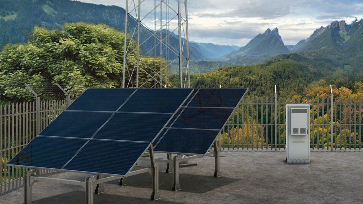 Ericsson und Deutsche Telekom versorgen Mobilfunkstation mit Solarstrom - heise online