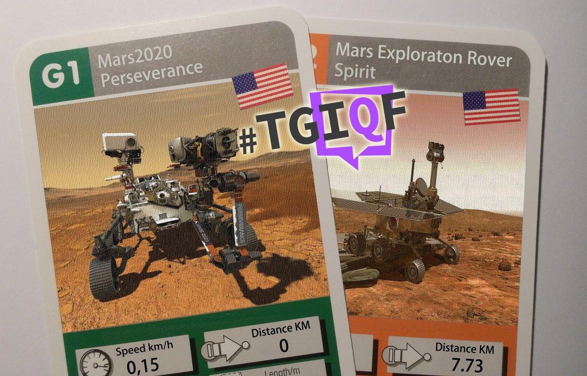 #TGIQF - Das Quiz rund um die Geschichte der Marsrover - heise online
