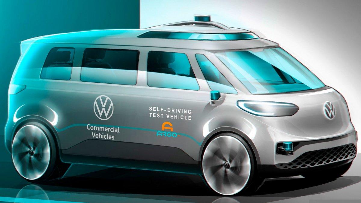 Elektroautos: Volkswagens Elektro-Bulli soll autonom fahren können - heise online
