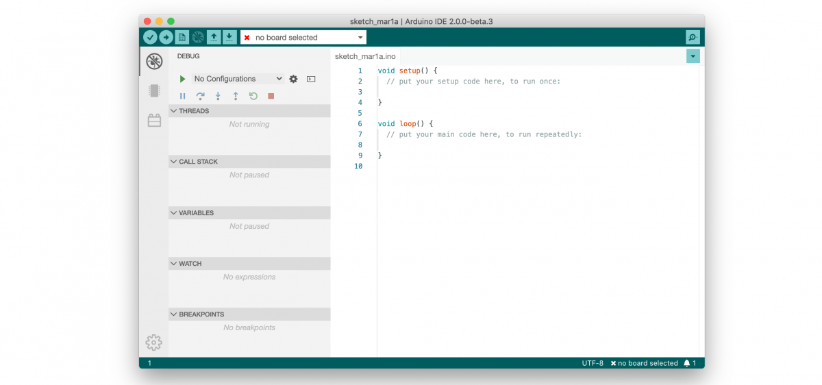 Jetzt verfügbar: Arduino IDE 2.0 in der Beta-Version - heise online
