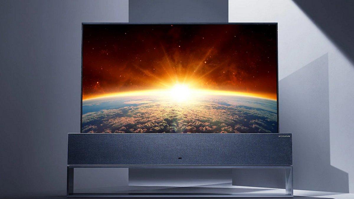 LG verkauft jede Menge OLED-TVs, bloß die aufrollbare Variante nicht - heise online