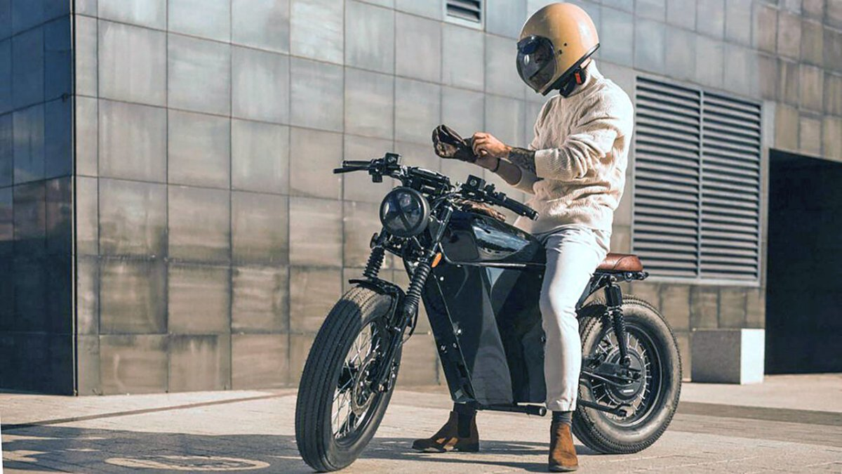 The electric One: OX Motorcycles One