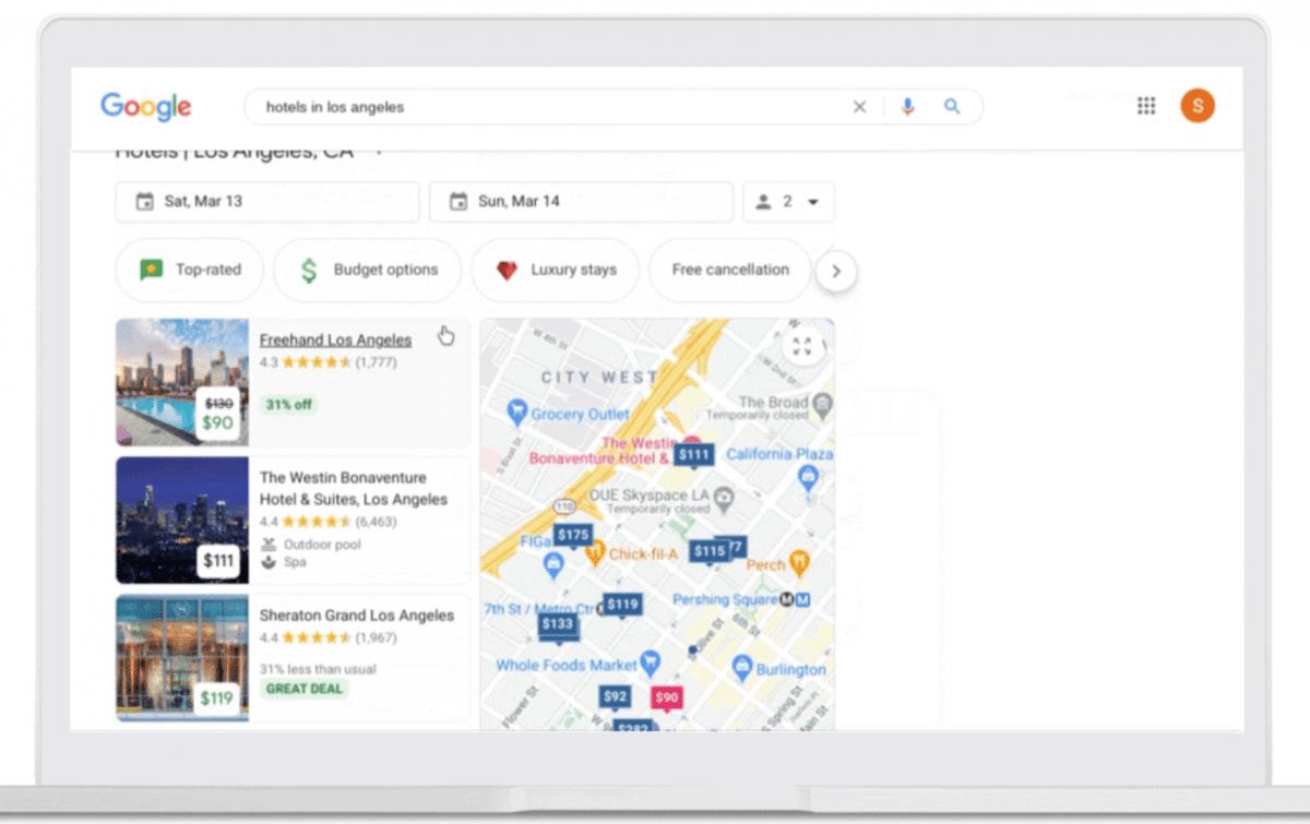 Google Travel: Suchmaschine extra für Hotels - heise online
