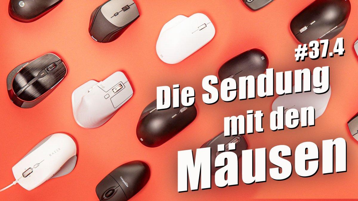 Office-Mäuse im Test, Videochats am TV und Hass im Netz | c't uplink 37.4