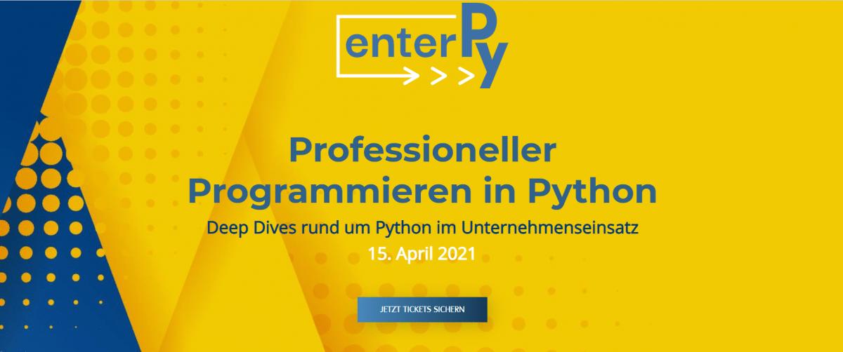 Professioneller Programmieren in Python: Jetzt noch anmelden zur Heise-Konferenz