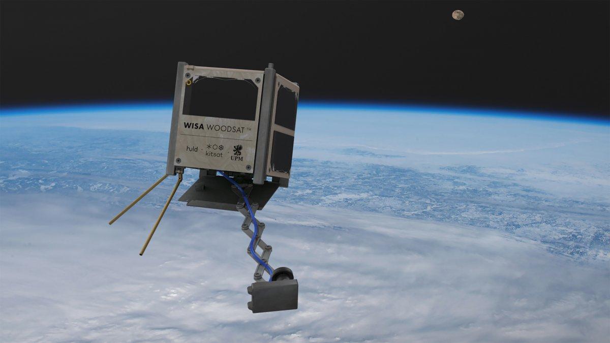 Finnland: Satellit aus Sperrholz soll schon in diesem Jahr starten