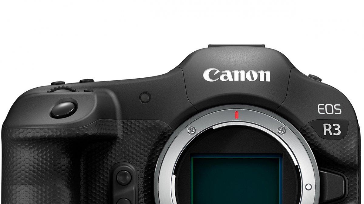 Canon EOS R3: Details zur neuen spiegellosen Profi-Kamera