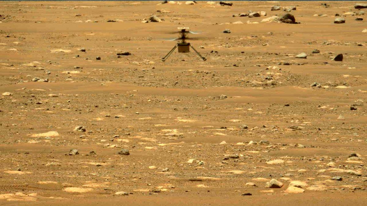 Mars-Helikopter-Ingenuity-H-her-l-nger-seitw-rts-auch-zweiter-Flug-gegl-ckt