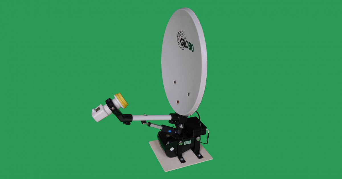 Bauanleitung für Satellitenschüssel-Automatik