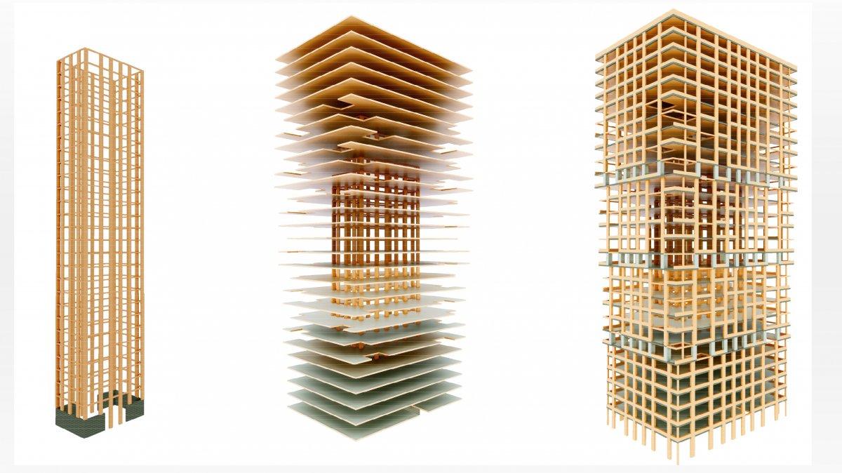 Klimaschutz: 80-Meter-Hochhaus ganz ohne Beton