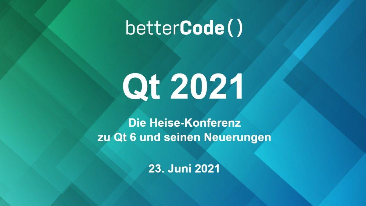 Cross-Plattform-Entwicklung: Jetzt noch Frühbucherrabatt für die Qt 2021 sichern
