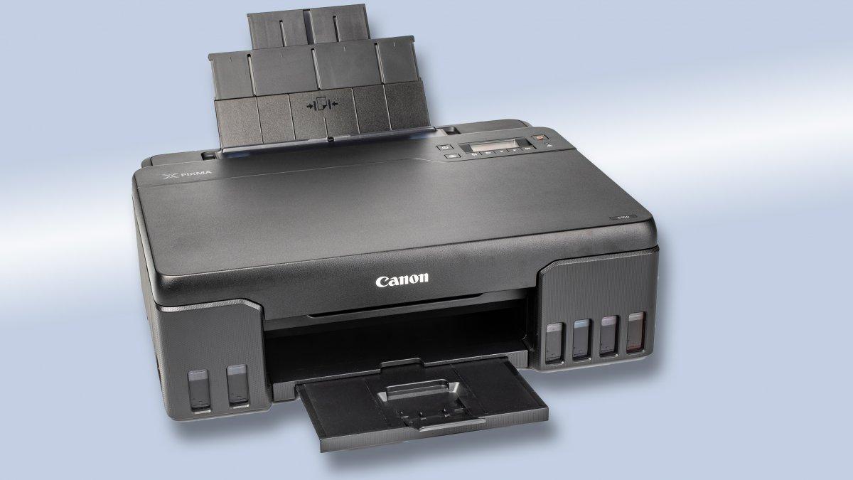 Canon Pixma G550: Fotodrucker mit sechs Tintentanks im Test