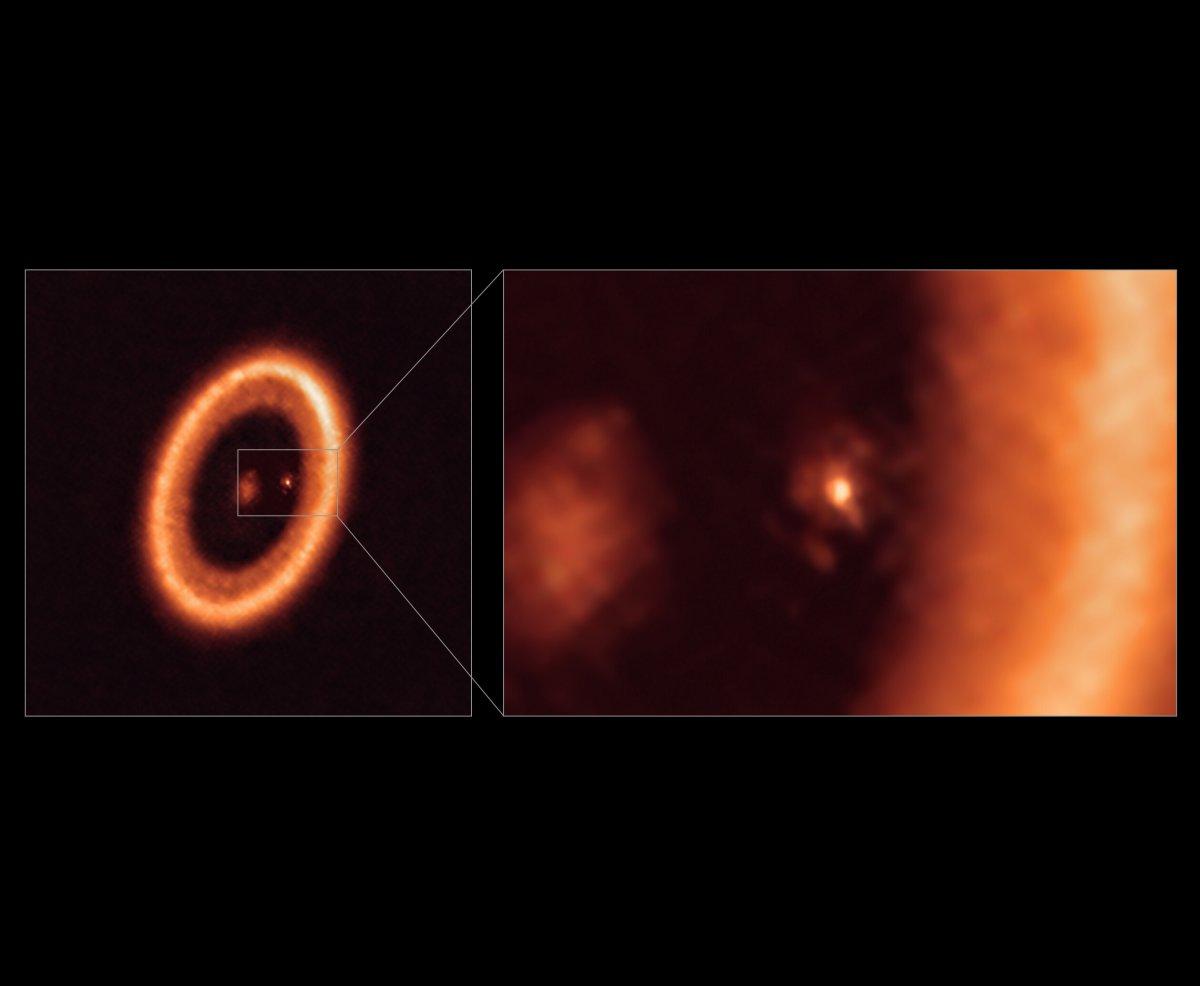 Astronomie: Erste mondbildende Scheibe um einen Exoplaneten nachgewiesen