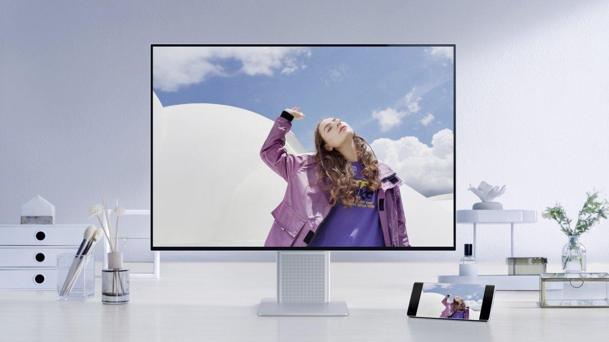 Huawei MateView: 4K-Monitor im 3:2-Format mit WLAN und USB-C