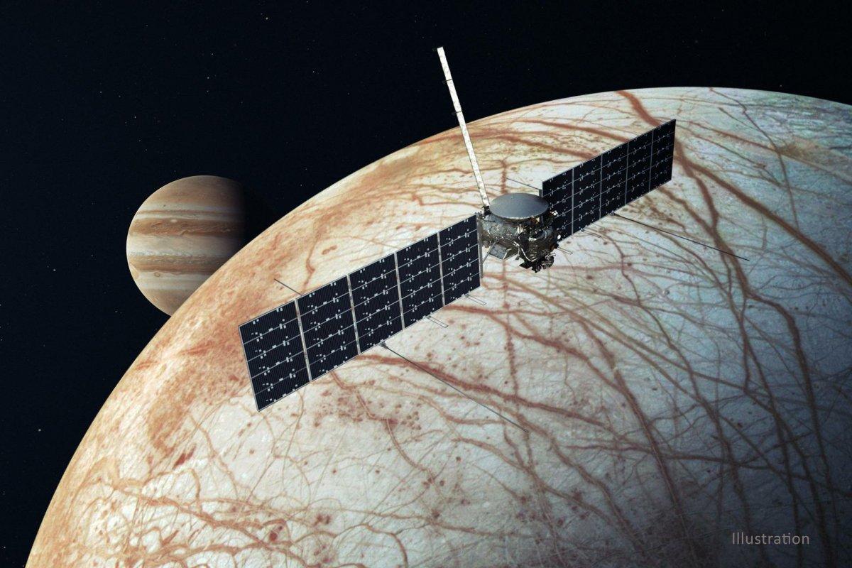 Europa Clipper Mission: NASA reitet SpaceX auf dem Weg zum Jupitermond