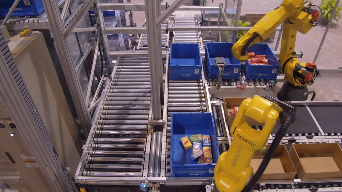 Wie eine neue Generation von KI-Robotern die Lagerhäuser übernimmt