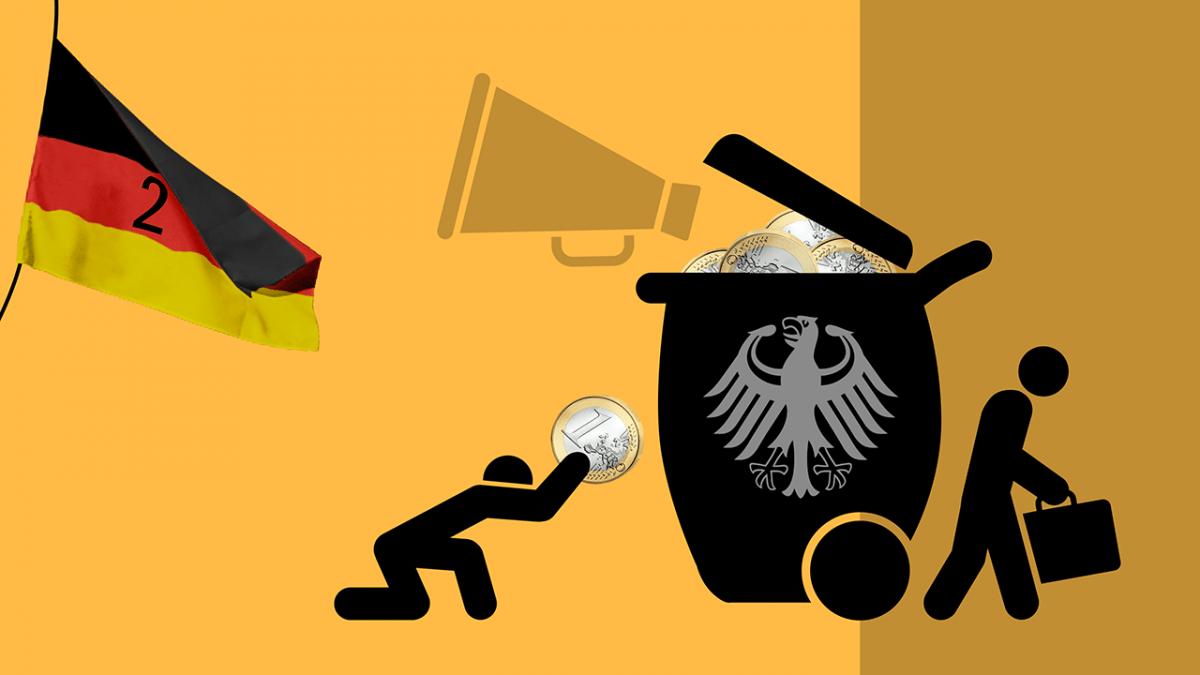 Wie sich der deutsche Staat mehr anmaßt und weniger leistet