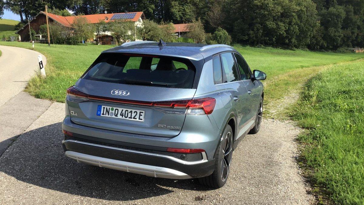 Elektroauto Audi Q4 e-tron: Der teure VW-ID.4-Ableger im Test