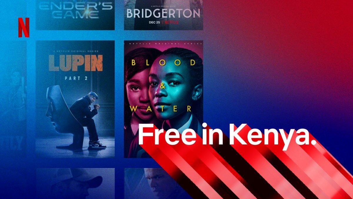 Netflix: Kostenfreier Zugang zu einem Viertel des Katalogs – in Kenia