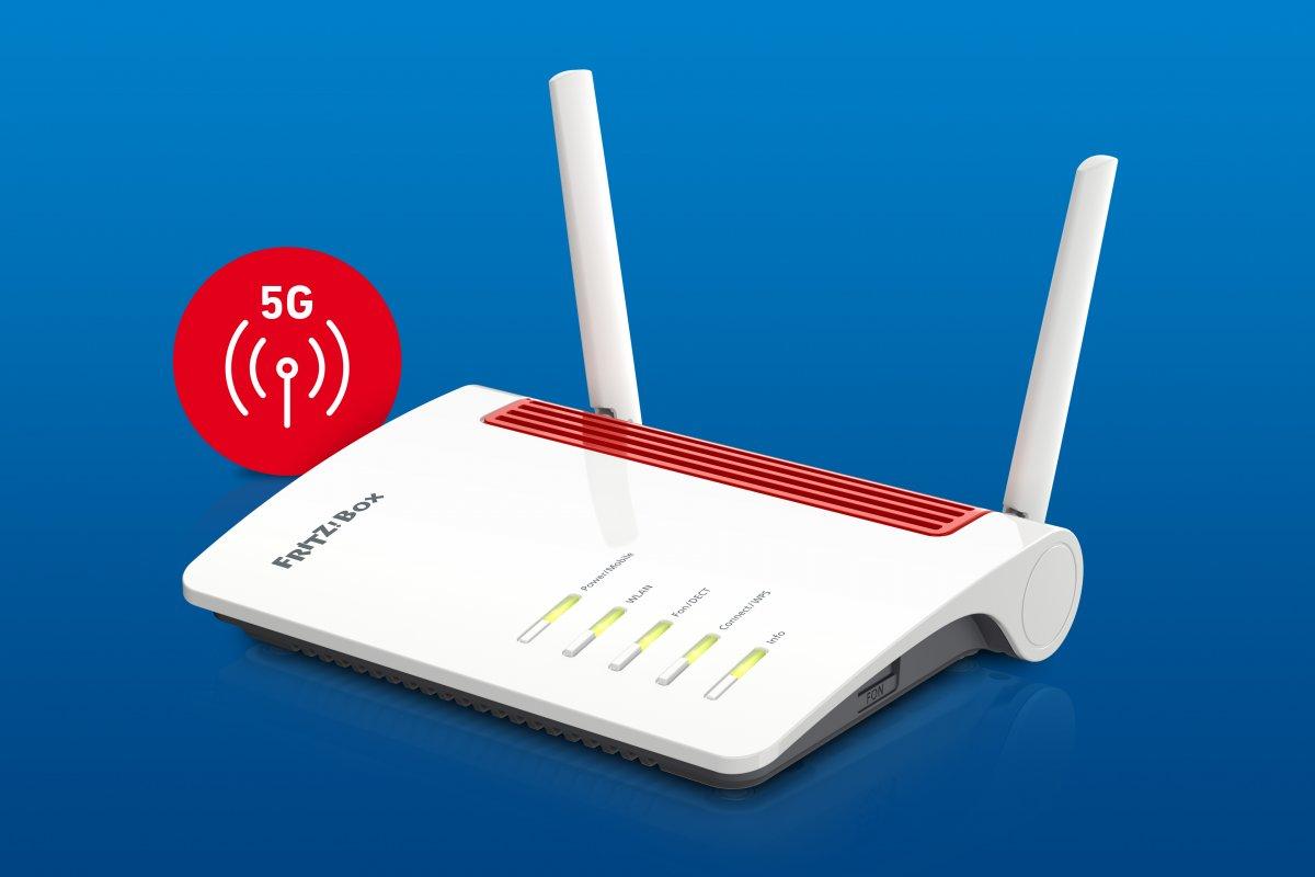 Fritzbox 6850 5G: Erster AVM-Router für 5G-Mobilfunk erhältlich
