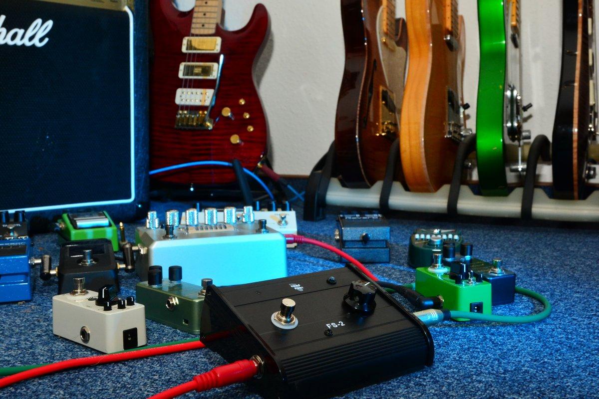 Booster: Vorverstärker für E-Gitarren selbst bauen