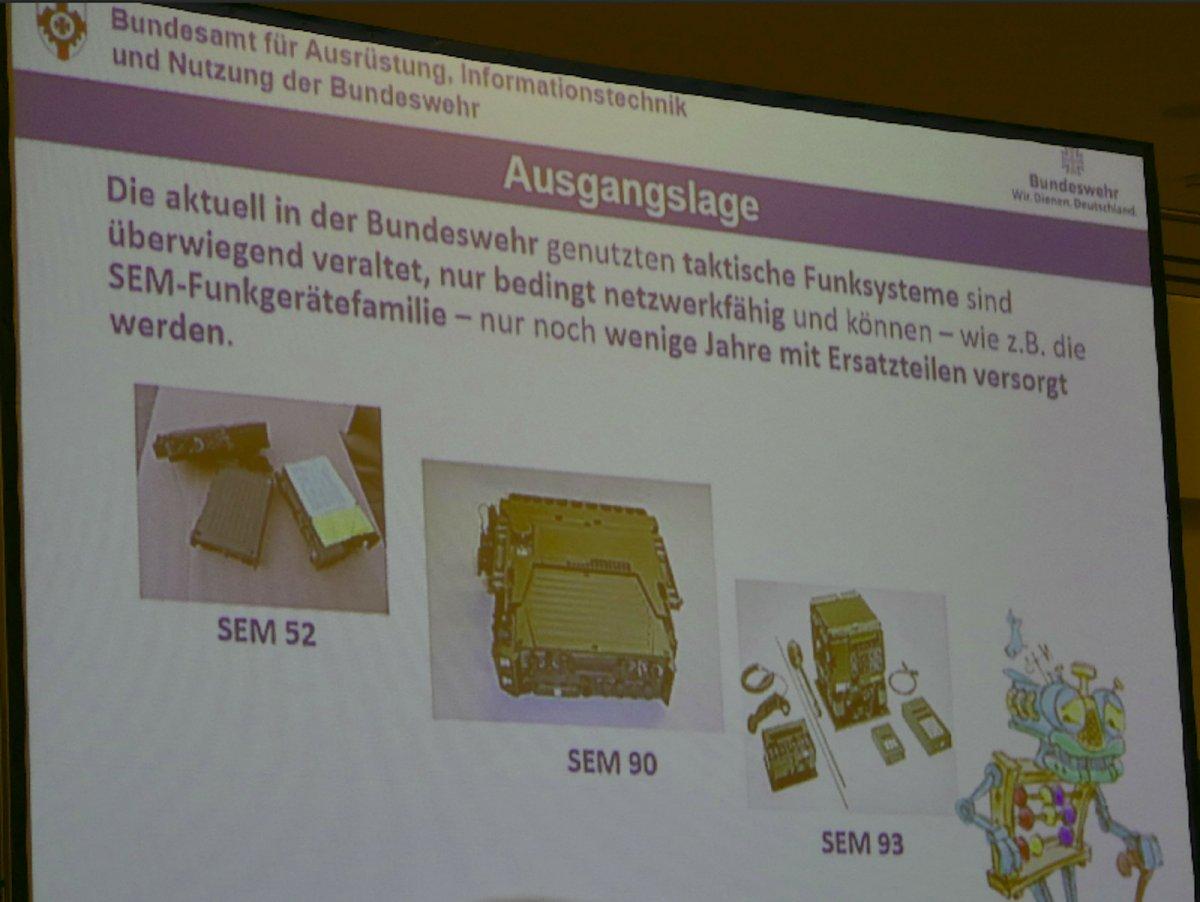 Bundeswehr: Neuauflage der Funktechnik der 80er-Jahre