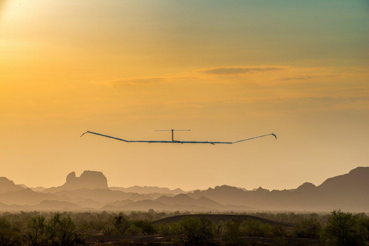 Airbus' Pseudosatellit Zephyr S fliegt so hoch wie noch nie